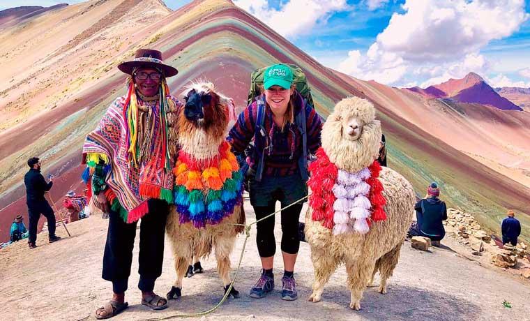 Visita la Montaña de Colores en Perú