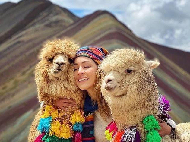 Machu Picchu Montaña Colores