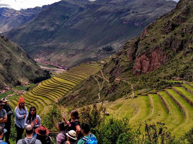Rainbow Machu Picchu