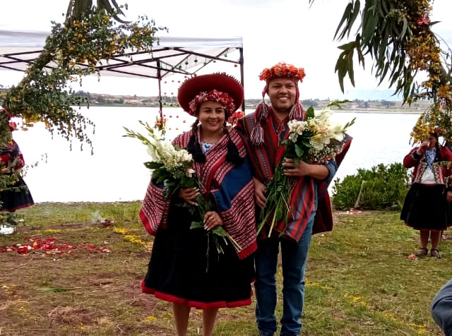 Mystical Marriage in Machu Picchu