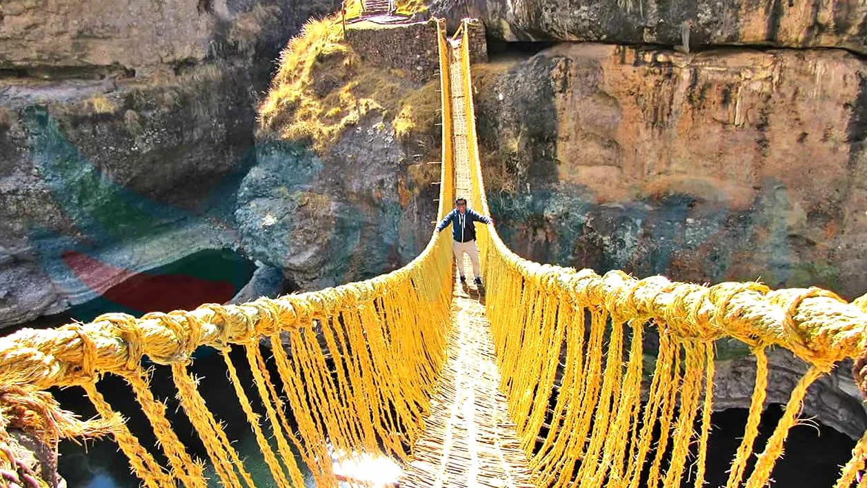 Cusco Puente Inca Qeswachaka Tour de Día Completo